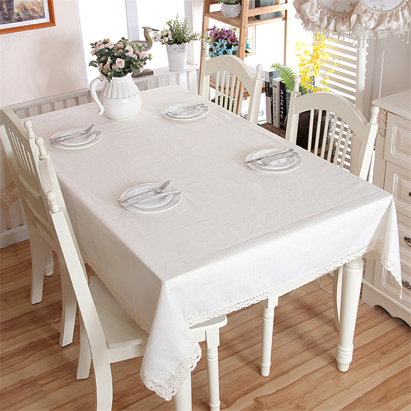 Cotton Thicken Table Cloth Modern Simple Style Dining Table Cover White Tablecloth For Party Wedding Decor Table Cloths Hot Tablecloths Aliexpress