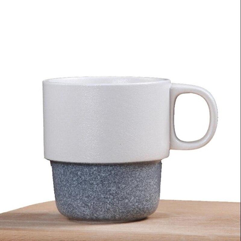 Fiocco Di Neve Smalto Creativo Giapponese Tazza Di Ceramica Semplice
