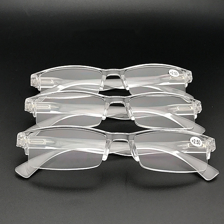 Zilead Ultra-Light Frameless Clear Reading Glasses Women&Men  Presbyopic Eyeglasses Parents Gifts+1.0+1.5+2.0+2.5+3.0+3.5+4.0