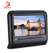 1x 10.1 inch HD 1024*600 TFT LCD Display Moveable Automotive Headrest Monitor DVD Participant USB/SD/HDMI/FM Contact Button Recreation Distant Management