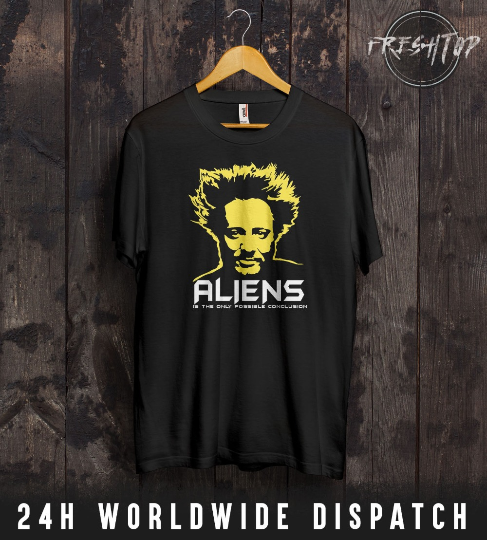Alien T Shirt UFO Space Ancient Alien Greys Galaxy Pyramid Disclosure MUFON FBI