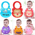 baby bibs waterproof baby bib 2016 apron bandana infant burp cloth silicone baby boy feeding bibs burp cloths saliva towels lot