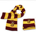 Hot Harry  Scarf Scarves Gryffindor Hufflepuff Slytherin Knit Scarves Cosplay Costume Gift for Teenagers