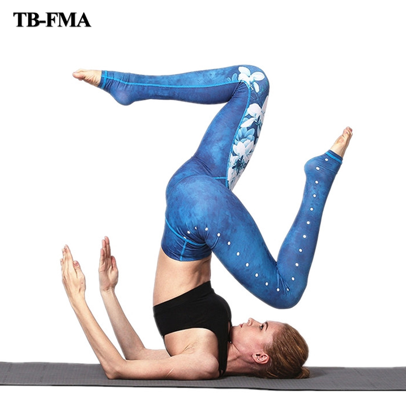 Yoga Pants Women High Quality Slim Running Fitness Yoga Leggings Elastic Sexy Compression Tights Breathable Sports Legging Pants new winter yoga suit five piece female ms breathable coat of cultivate one s morality pants sports suits running fitness