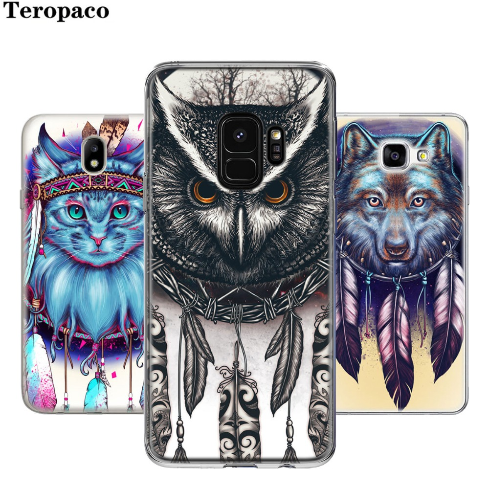 Sheli Illuminati All Seeing Eye Owl Phone Case For Iphone 6 6s 7 8 Casing 4 4s Softcase Motif Dream Catcher Cat Wolf Soft Silicon Samsung Galaxy S6 S7 Edge S8 S9