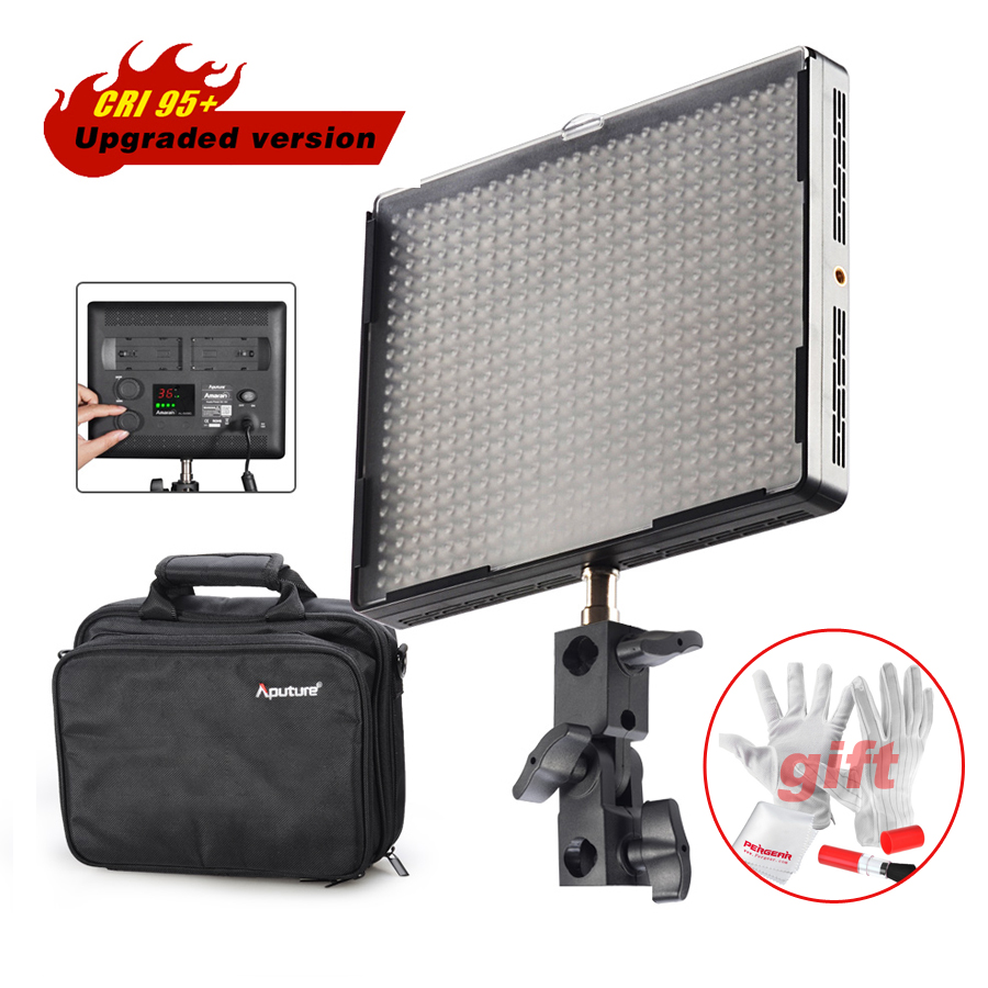 Aputure Amaran AL-528C Led Video Studio Camera Photo Fill Light Panel Color Temperature Adjustable CRI >95 for DSLR Camcorder стоимость