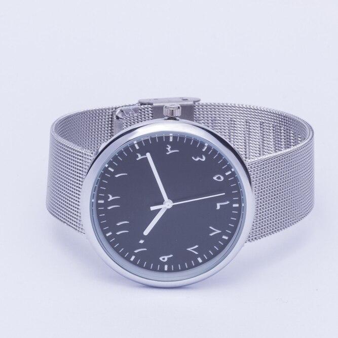 new design arabic watches stainless steel bands elegant clocks