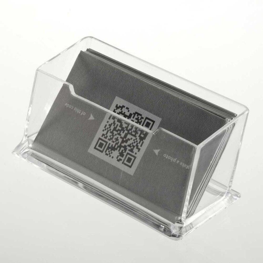 1 шт. прозрачный акриловый Бизнес держатель для карт Дисплей настольные подставки стола столешницу новые новое поступление