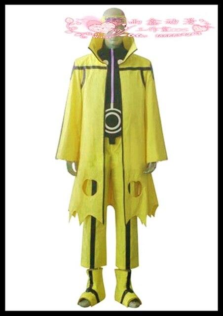 naruto uzumaki naruto nine tails bijuu mode cosplay costume topant