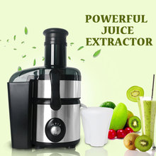лучшая цена  Free Shipping Slow Juicer 800W Fruits Vegetables Slowly Juice Extractor Juicers Fruit Drinking Machine 220V With Europe Plugs
