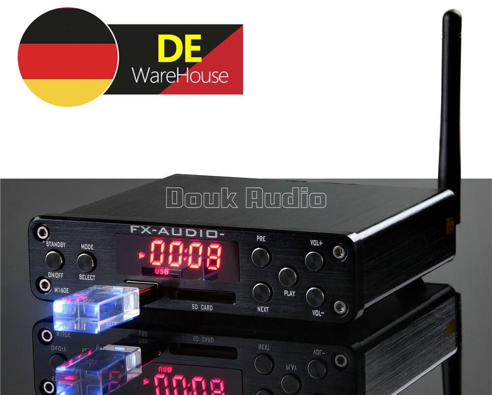 Встроенный HiFi высокомощный цифровой усилитель u диск/sd карта/PC USB/Bluetooth 4,0 160 Вт * 2
