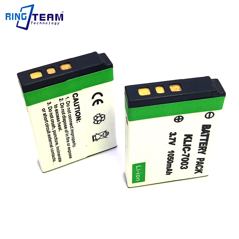 AKKU für KODAK EASYSHARE KLIC-7003 KLIC7003 Batterie