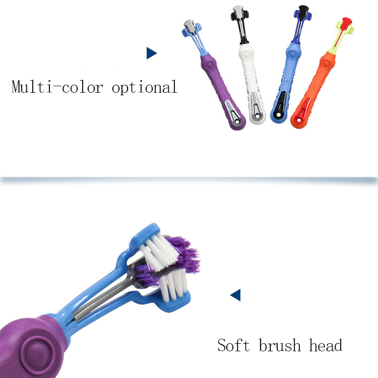 Three-sided Pet Toothbrush 13