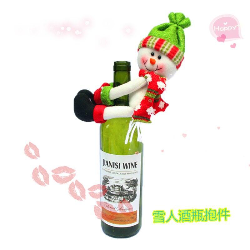 3 Adet / takım Noel Noel Baba enfeites de natal Kırmızı yüksek - Tatiller ve Partiler Için - Fotoğraf 4