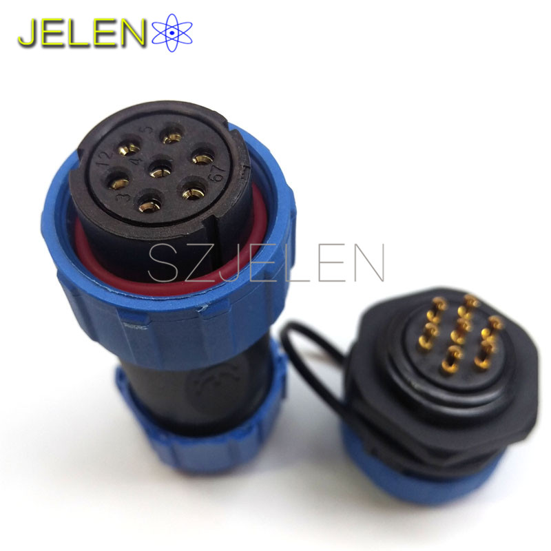 Charming How To Wire Ssr Big Ibanez Jem Wiring Square Viper Remote Start Wiring Gibson Pickup Wiring Colors Youthful Coil Tap Wiring WhiteAuto Command Remote Starter Wiring Diagram Aliexpress.com : Buy SP2110, Male And Female 7 Pin Connector ..