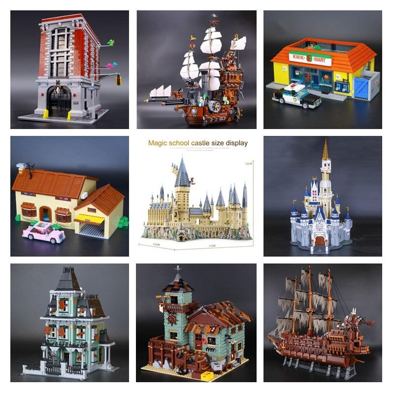 H&HXY 06022 06066 06083 16001 16002 16004 16005 16006 06057 16008 16009 45014 16016 16050 16060Movie Building Block Bricks Toy