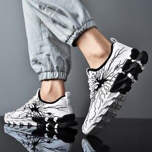 Image 5 - New Clunky Sneaker Women Shoes Thick Bottom Leisure Shoe Shoes Woman Walking Footwear Zapatillas Mujer Deportiva Plus Size 45 46