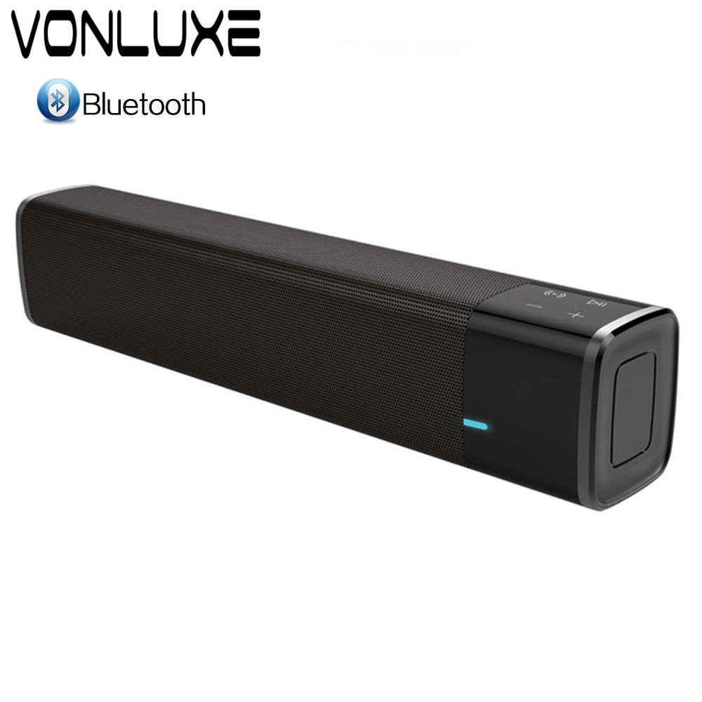 Big Power PoSound Bar Wireless Subwoofer Bluetooth Speaker 20W TV Soundbar Receiver Stereo Super Bass Altavoz port til For TV PC