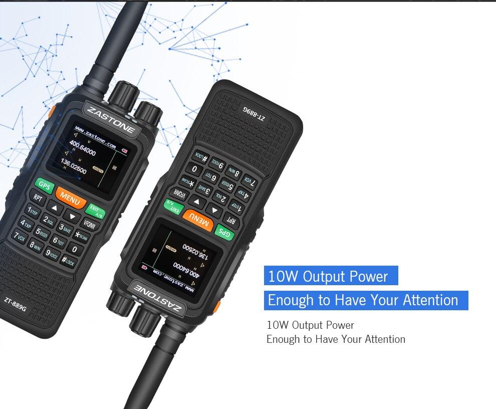 Talkie VHF/UHF Portable 999CH 4