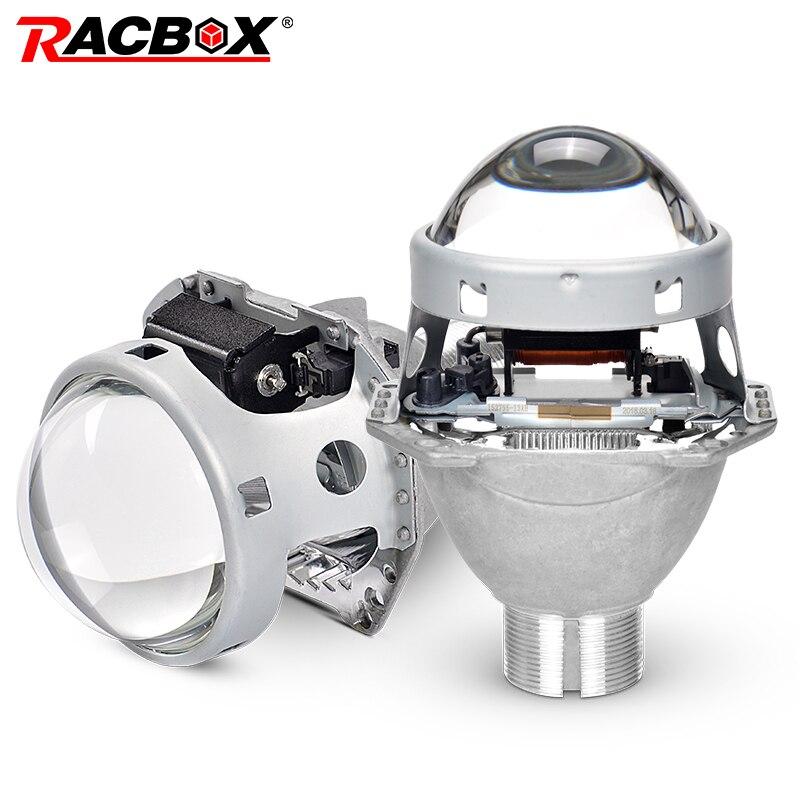 Plein métal 3.0 pouces H4 HID Bi xénon projecteur lentille pour Hella 5 D2S D2R D2H D4S Xenon ampoule Kit voiture rénovation phares style
