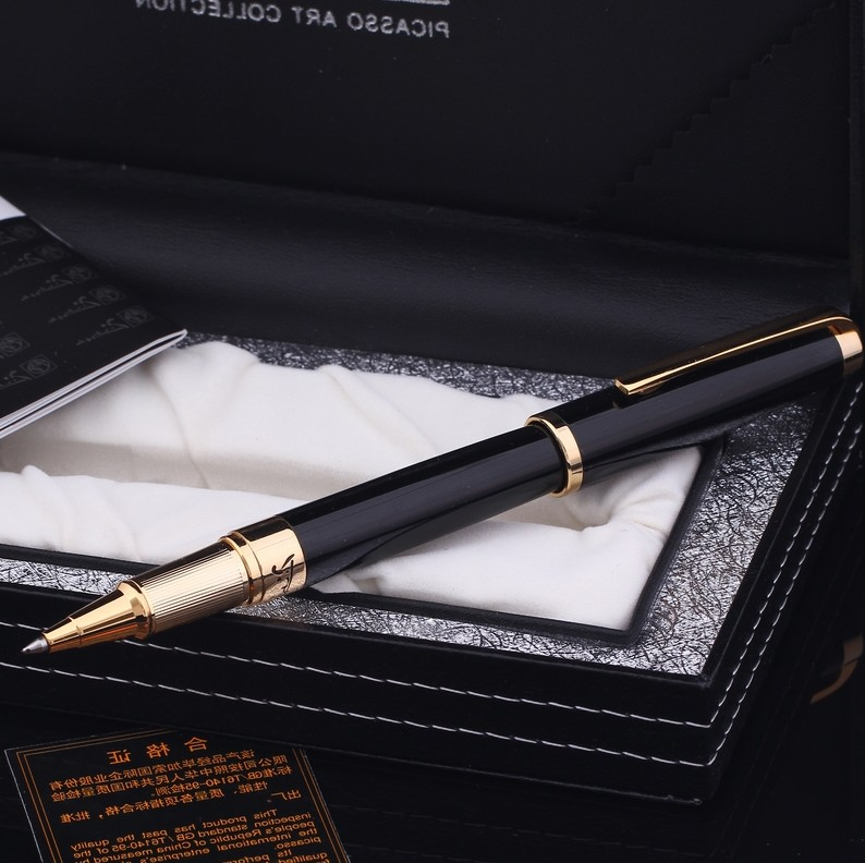 Picasso 918 Metal Rollerball Pens 0 7mm Nib Office Supplies Student Stationery Writing Pen Free Shipping