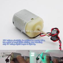 5 шт. Mabuchi DC мощный магнитный двигатель двойной оси DIY Генератор