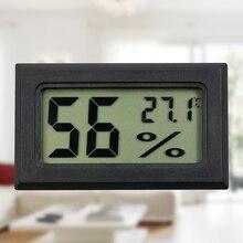 Bicr влажности гигрометр измеритель температуры термометр жк крытый цифровой мини черный
