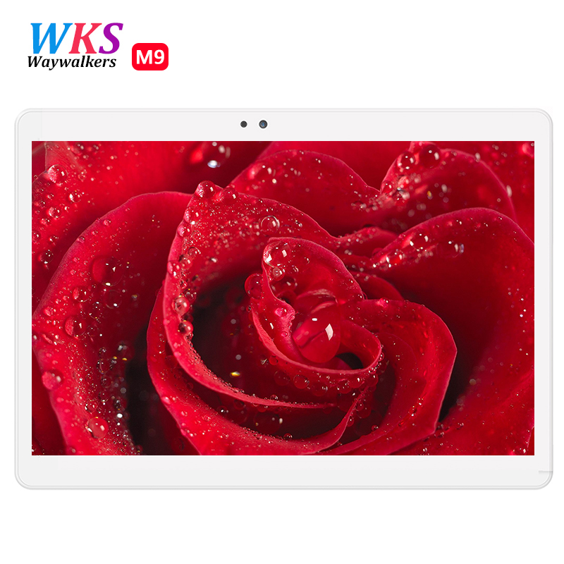 10.1 inch tablet pc Android 7.0 octa core RAM 4GB ROM 32/64GB Dual SIM Bluetooth GPS 1920*1200 IPS Smart tablets pcs 10'' 101'' waywalkers 10 inch tablet pc android 7 0 octa core ram 4gb rom 32 64gb 1920 1200 ips dual sim wifi bluetooth gps tablets phone