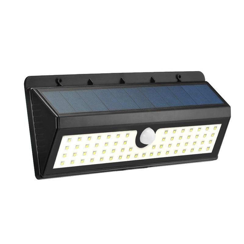 ФОТО 800LM 62 LED Solar Light PIR Human Body Motion Sensor Solar Powered Outdoor LED Garden Light Wall Lamp Waterproof