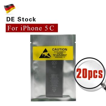 20Pcs/Lot Batteries For iPhone 5c Li-Polymer AAAA+ Best Quality Factory Supply Batteria Akku Accu Europe Stock