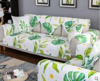 Sofa Cushions Pastoral Fabric Four Seasons Universal Cotton Fabric Towel Solid Wood Non Slip Cushion