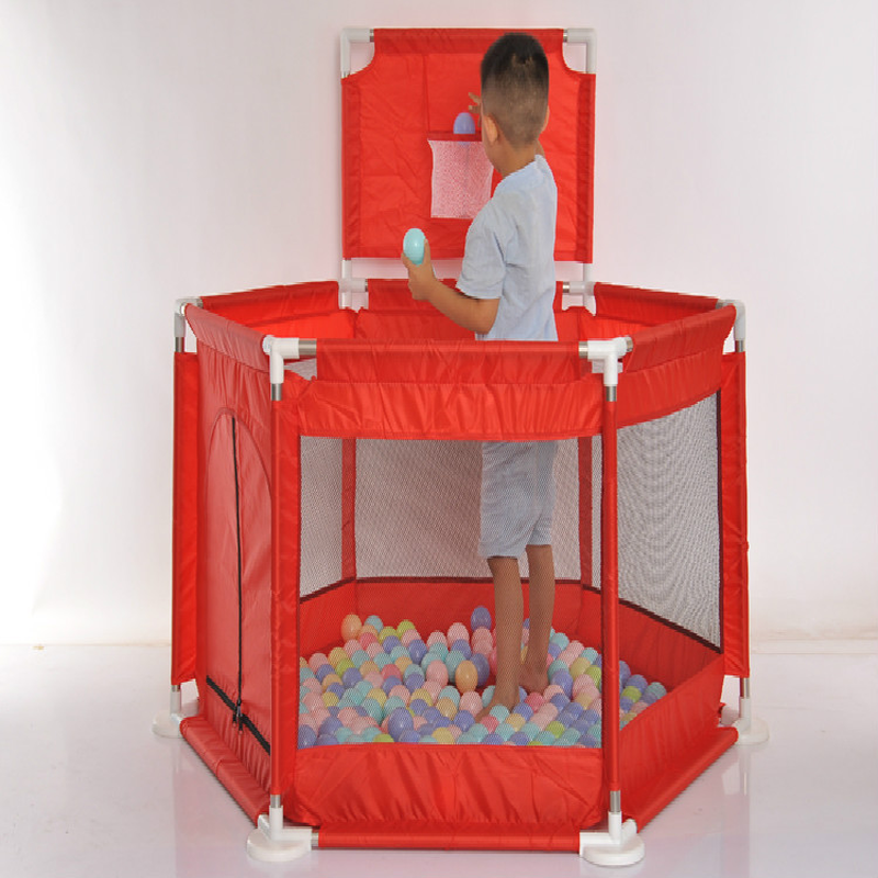 0 6 Years Old Children Marine Ball Game Fence Baby Toddler Fence Baby Environmental Safety Food Grade Material Fence 2018 Summer in Baby Playpens from Mother Kids