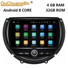 Ouchuangbo android 8,0 car audio gps-навигация радио рекордер для мини F55 F56 2014-2016 с 8 core 4 GB + 32 GB