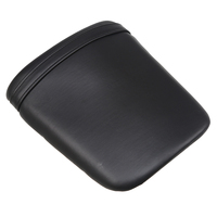 Black PU Leather Motorcycle Seats Passenger Rear Seat Cover Cowl Backrest Cushion Pad For Honda CBR 1000 RR 2004 2005 2006 2007