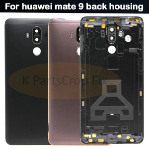 Mate 9 Battery Back Cover For Huawei Mate9 MT9 Back Housing Battery Door With Camera Lens Side Buttons With Tools(China)