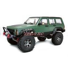 1/10 Cherokee XJ жесткий пластиковый корпус 313 мм Колесная база для RC грузовик осевой SCX10 и SCX10 II 90046