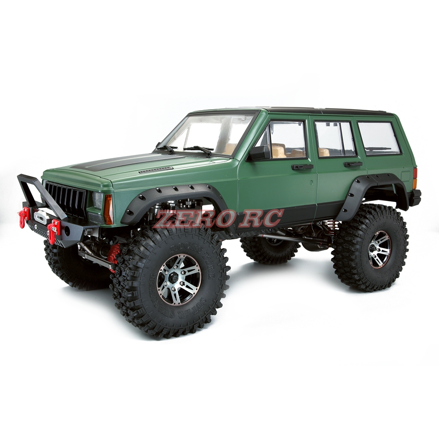 1 10 sale cherokee xj hard plastic body 313mm wheelbase for rc truck axial scx10 and scx10 ii. Black Bedroom Furniture Sets. Home Design Ideas