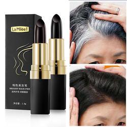 Одноразовая краска для волос мгновенное покрытие серыми корнями цвет волос изменение крем-стик временное покрытие белый цвет волос краска