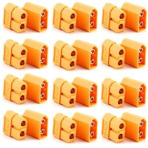 Image 1 - XT60 Connectors,100 Stks/partij XT60 XT 60 Mannelijke Vrouwelijke Bullet Connectors Pluggen Voor Rc Lipo Batterij