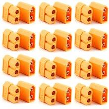 цена на XT60 Connectors,100pcs/lot XT60 XT-60 Male-Female Bullet Connectors Plugs For RC Lipo Battery
