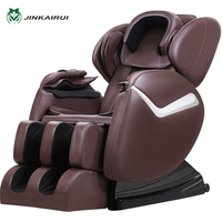 JinKaiRui Massage Chair 3D Electric Body Massager SPA Pedicure Chairs Health Care Relaxation Physiotherapy Equipment with Music