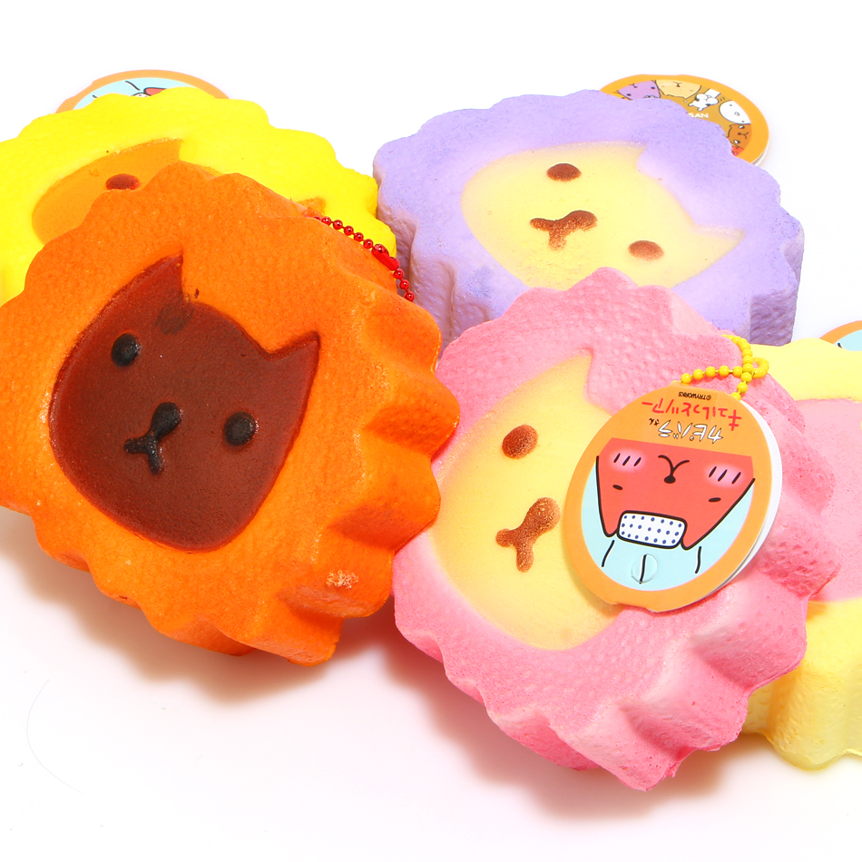 Squishy Tag List : 2017 1 pcs New Slow Rising Jumbo Kapibarasan Cake Squishy Charm With Tag free shipping-in Mobile ...