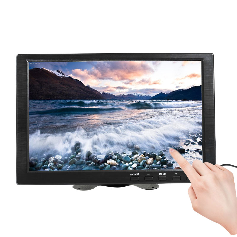 10.1 inch 1280x800 HD Touch Screen for PS3/4 Computer Xbox Portable Display Security Monitor with Speaker VGA HDMI Interface-in LCD Monitors from Computer & Office