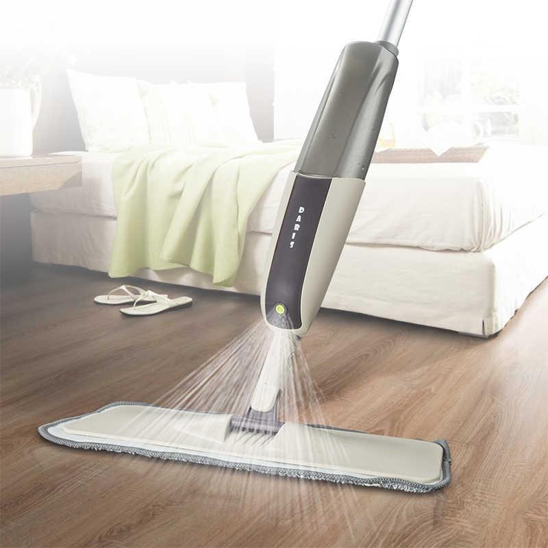 Magia Mop Pulverizador Janelas do Piso Limpo Mop Com Cabo Longo de Alta Qualidade Ferramentas de Limpeza de Microfibra Pano de cozinha Casa de Banho Dedicado
