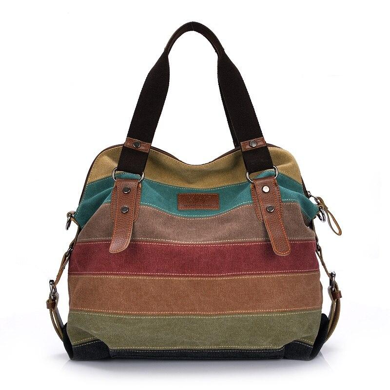 Fashion Canvas Messenger Bags Women's Designer Handbags High Quality Shoulder Bags Bolsa Femininas Female Tote Crossbody Bags