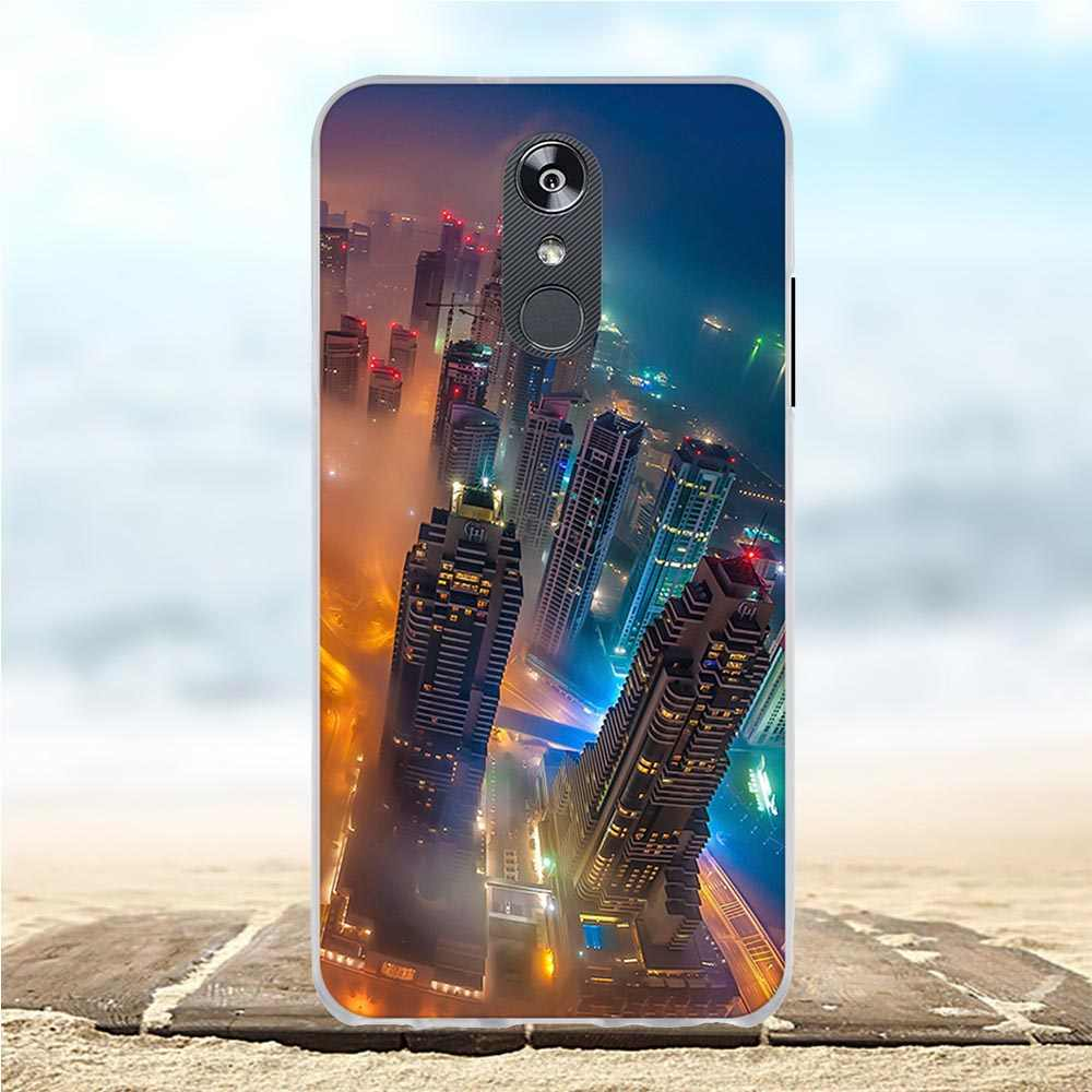Untuk LG Q Stylo 4 Case Silicone TPU Cover Untuk LG Q Stylo 4 Q710MS Kasus 3D Pola Funda 6.2 ''untuk LG Q Stylo 4 Stylo4 Telepon Kasus