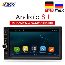 Android 8.1 8.0 RAM 2G ROM 32G Car DVD Gps Navigation Radio Video Player Stereo Universal 2 Din Radio Car Multimedia Player Gps цена 2017