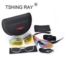 TSHING RAY Men Women Driver Sunglasses With 5 Pair Lens Box Outdoor Driving Fishing Brand Designer Half Frame Sun Glasses Male