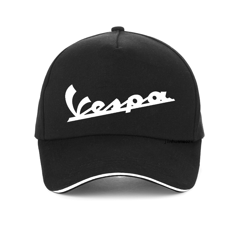 Vespa cap Men 2019 Funny Vespa baseball Cap 100% Cotton Summer men women adjustable Hip Hop snapback hat bone