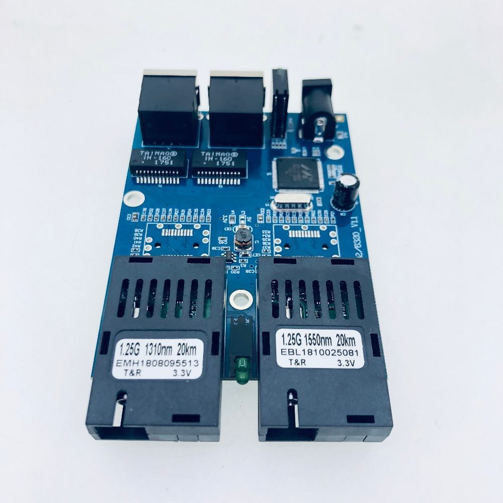 Image 3 - 10/100/1000M Gigabit Ethernet switch Ethernet Fiber Optical Media